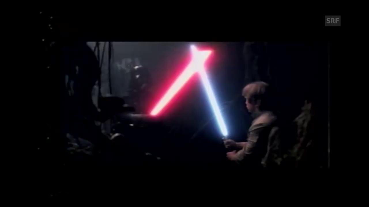 Die Lichtschwerter in «Star Wars»