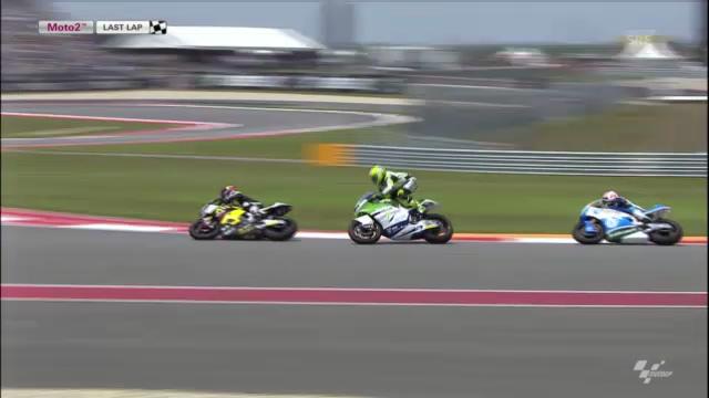 Moto2: Zusammenfassung GP USA («sportlive»)