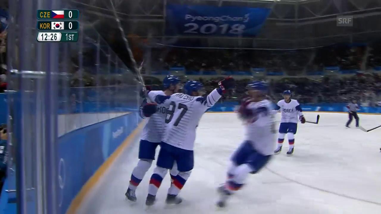 Südkorea trifft gegen Tschechien