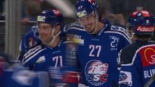 Video «Eishockey: ZSC-Zug - zweimal vom 0:4 zum 6:4» abspielen