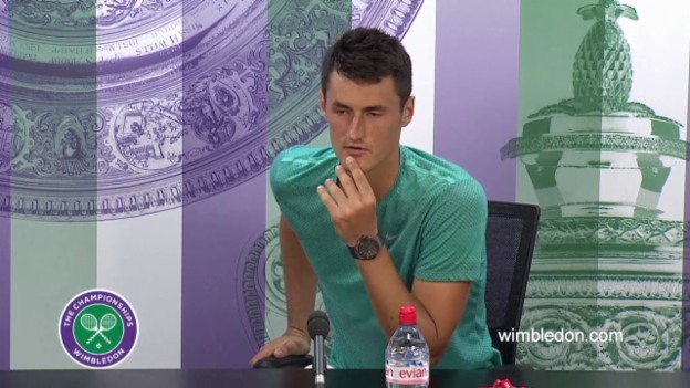Video «Tennis: Medienkonferenz Tomic» abspielen