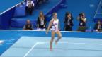 Video «EM Moskau: Giulia Steingruber im Boden-Final («sportpanorama»)» abspielen