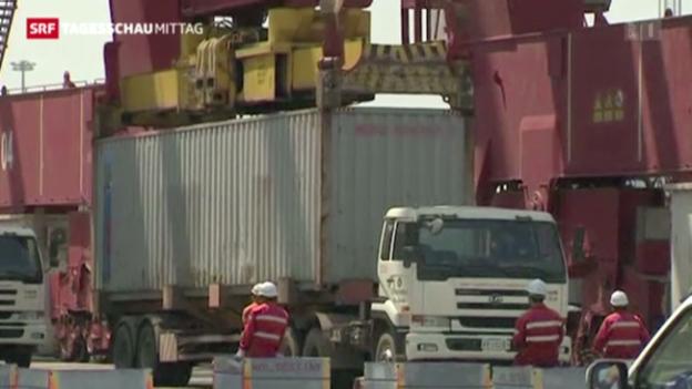 Video «Chinas Wirtschaft erholt sich» abspielen