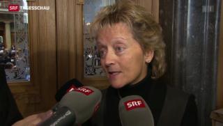 Video «Eveline Widmer-Schlumpf zur Absage des Nationalrats » abspielen