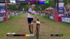 Video «Schurter gewinnt das 6. von 6 Rennen.» abspielen
