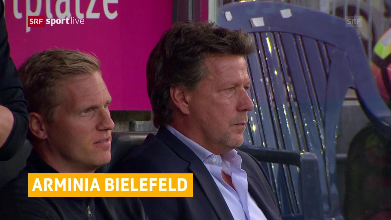 Bielefeld wirbt um Saibene