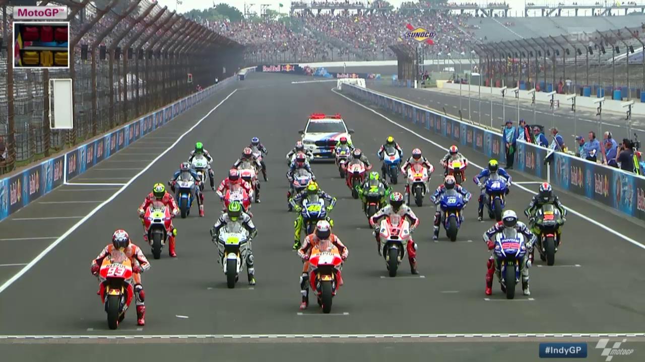 Motorad: MotoGP, GP von Indianapolis