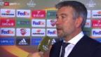 Video «Fussball: Europa League, Fiorentina - Basel, Interview Fischer» abspielen