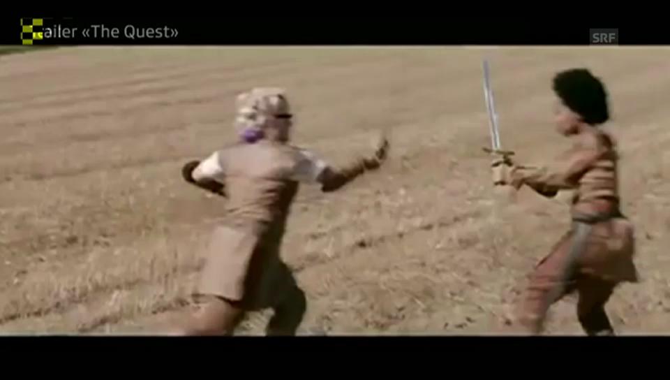 Trailer «The Quest», unkom. Video