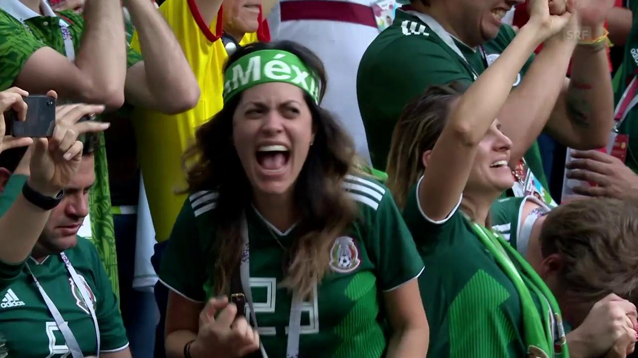 Mexiko siegt gegen Weltmeister Deutschland