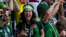 Link öffnet eine Lightbox. Video Mexiko siegt gegen Weltmeister Deutschland abspielen
