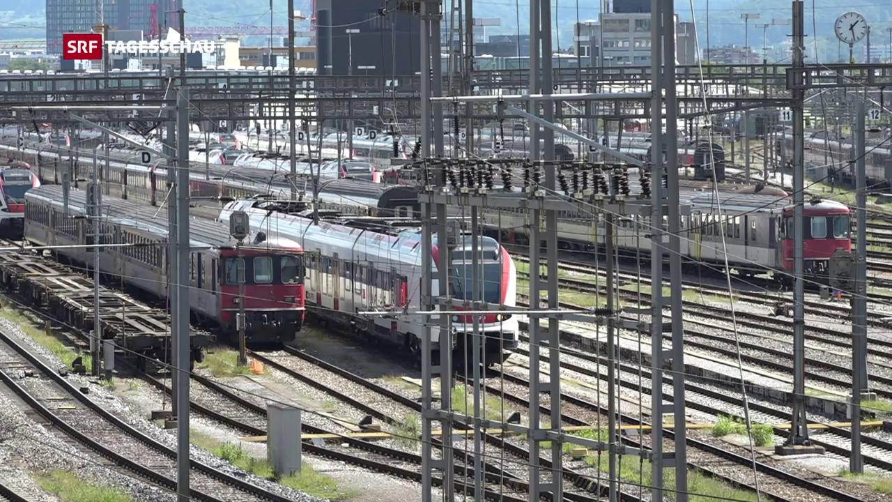 Zugverkehr nach Deutschland schwer beeinträchtigt