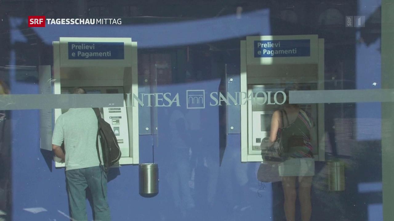 Italien zerschlägt zwei Banken
