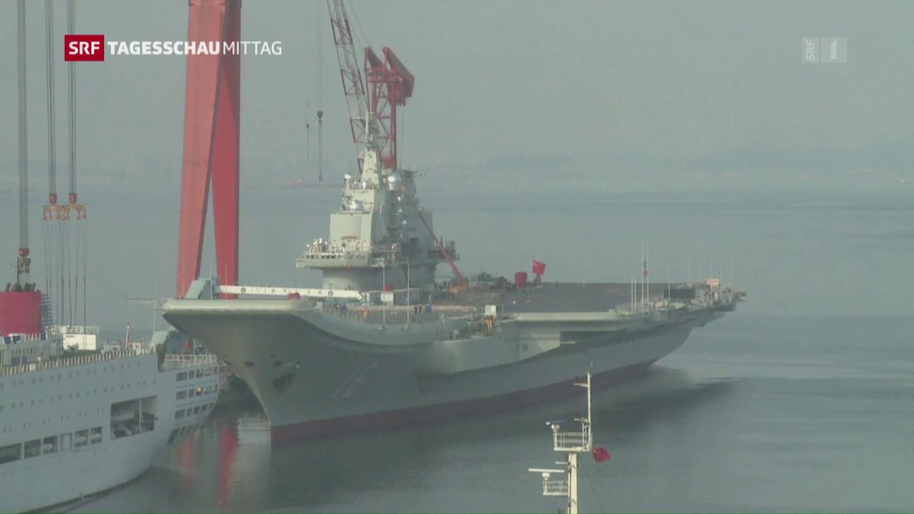 China will mehr in das Militär investieren