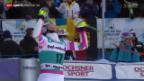 Video «Ski alpin: Weltcup der Frauen Super-G in St. Moritz» abspielen