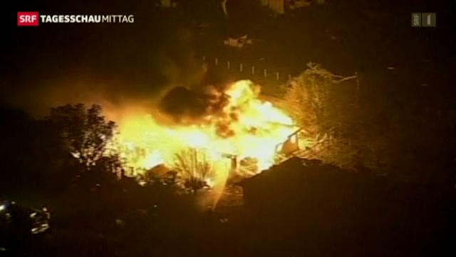 Explosion in einer Düngerfabrik in Texas