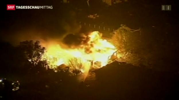 Video «Explosion in einer Düngerfabrik in Texas» abspielen