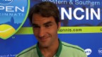 Video «Federer im Interview» abspielen