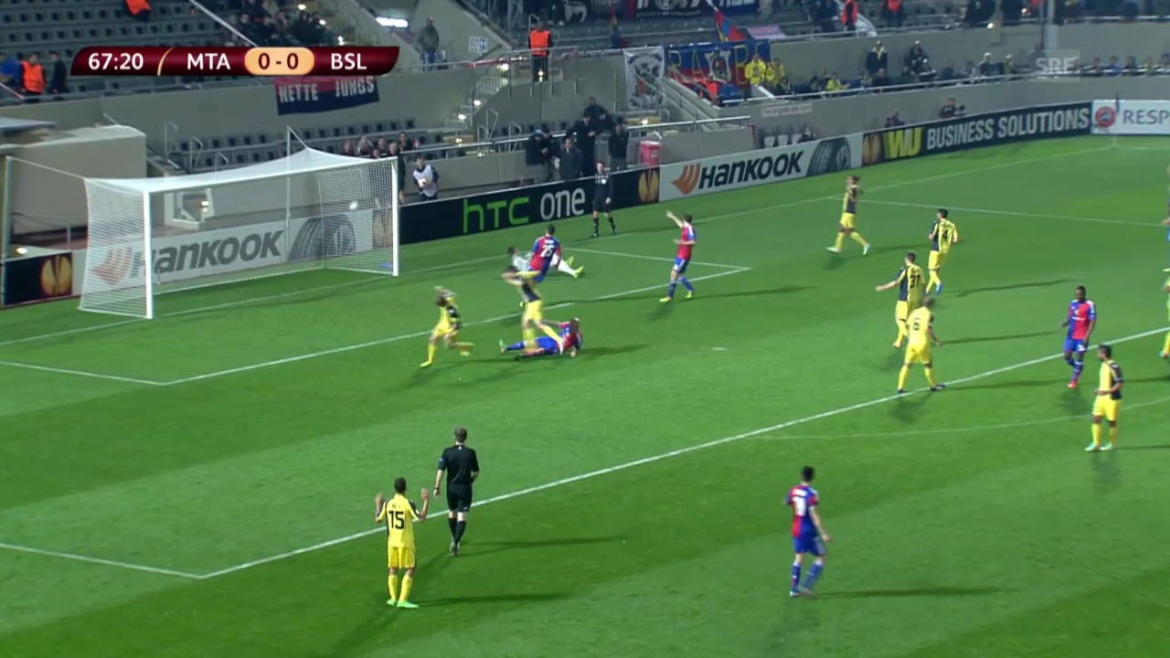 Fussball: Highlights Tel Aviv - Basel («sportlive», 20.02.2014)