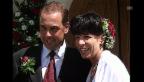 Video «Vreni Schneider heiratet (Tagesschau vom 7.08.1999)» abspielen