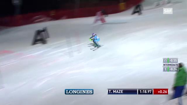 Slalom Semmering: 2. Lauf von Maze