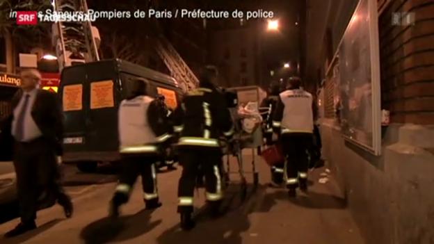 Video «Brände in Frankreich (TagesschauSpätausgabe, 31.04.2013)» abspielen