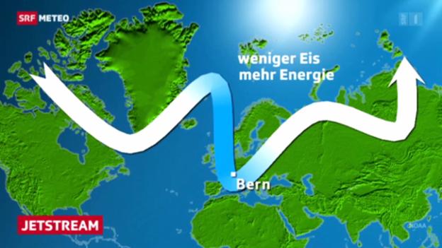 Video «Wie der Jetstream das Wetter beeinflusst» abspielen