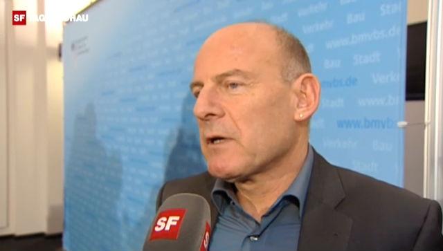 Baden-Württembergs Verkehrsminister Winfried Hermann von den Grünen macht Opposition gegen den Staatsvertrag.