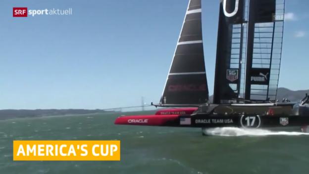 Video «Segeln: Americas Cup 2017 auf den Bermudas («sportaktuell»)» abspielen