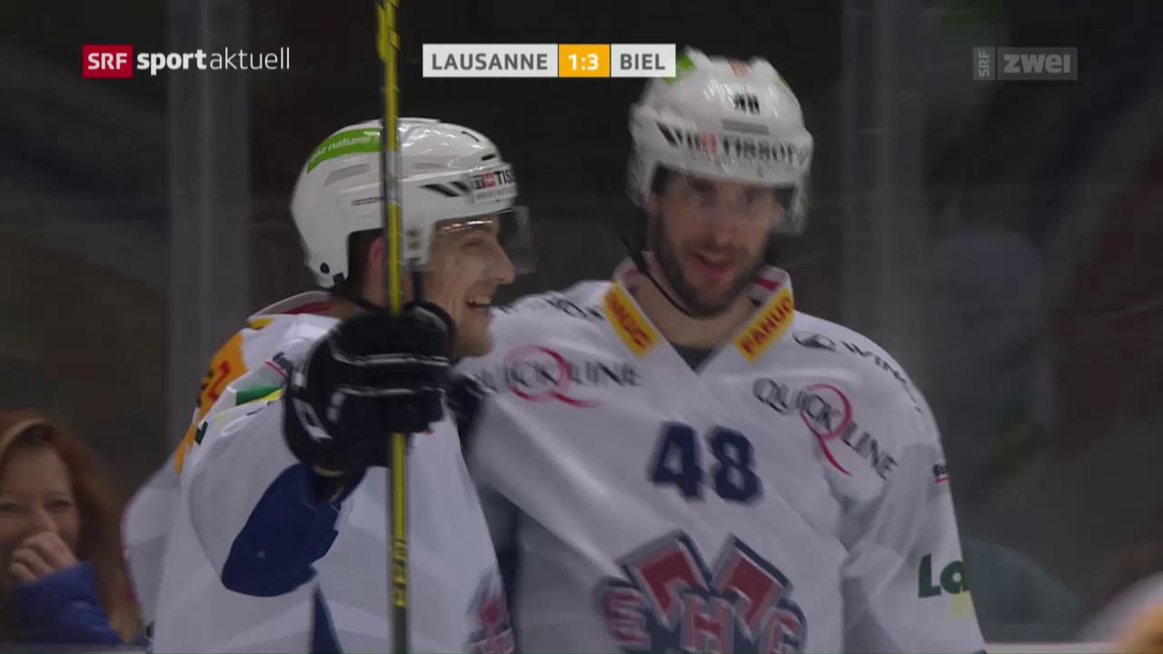Biels seltenes Erfolgserlebnis in Lausanne