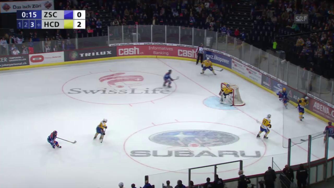 Eishockey, Playoff-Final, 3:0 durch Paschoud