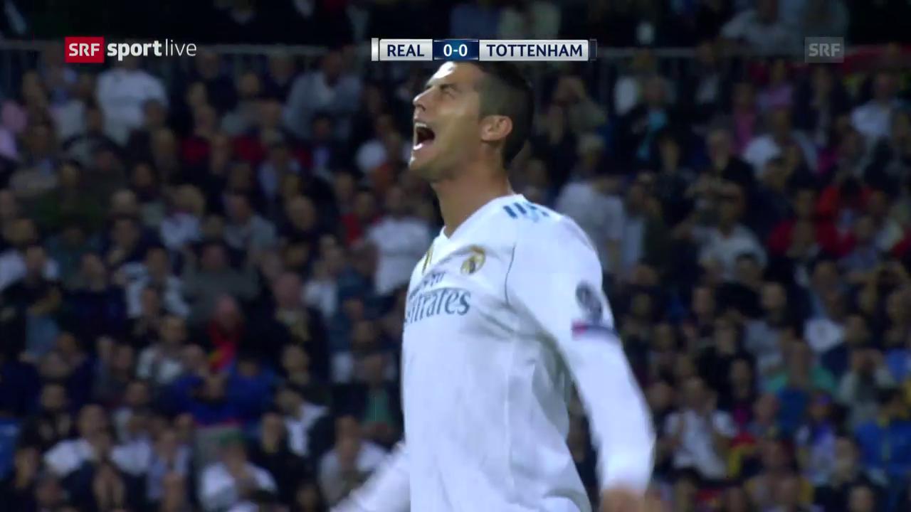 Unentschieden zwischen Real Madrid und Tottenham