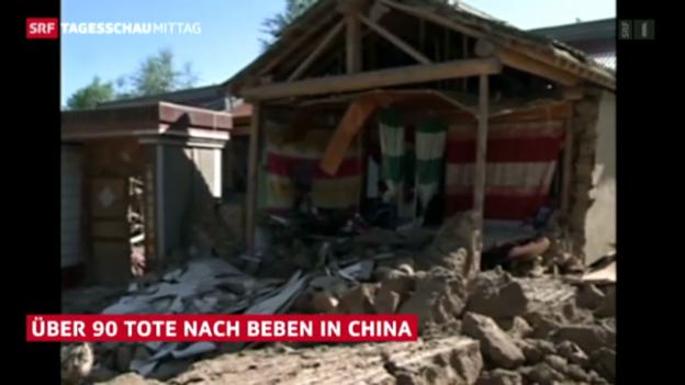 Video «Erdbeben in China» abspielen