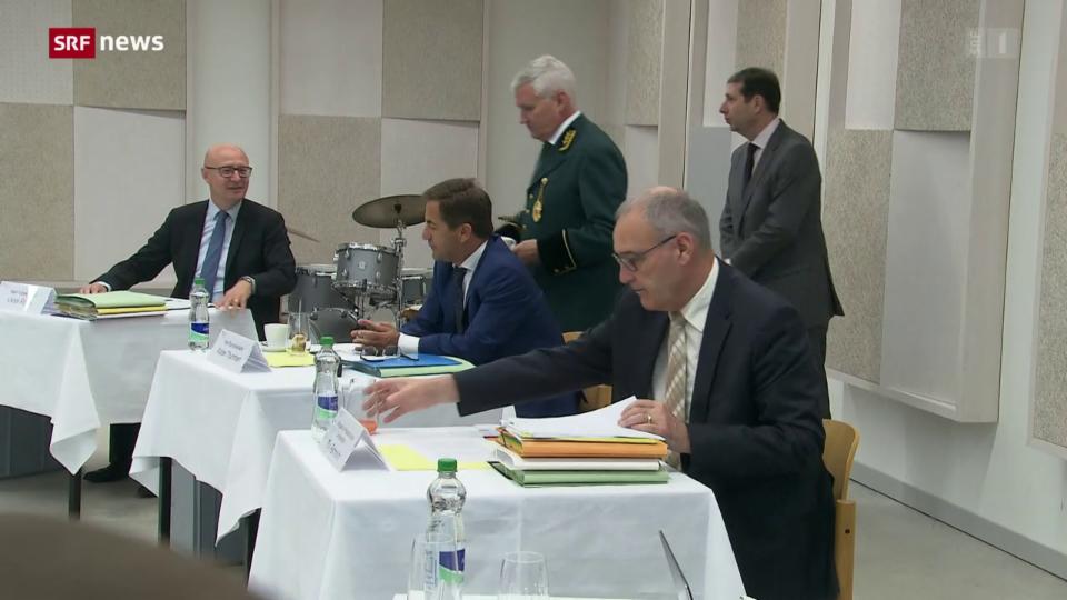 Der Bundesrat auf Besuch in Luzern