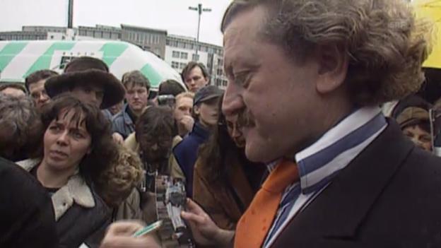 Video «Dieter Meier in Kassel» abspielen