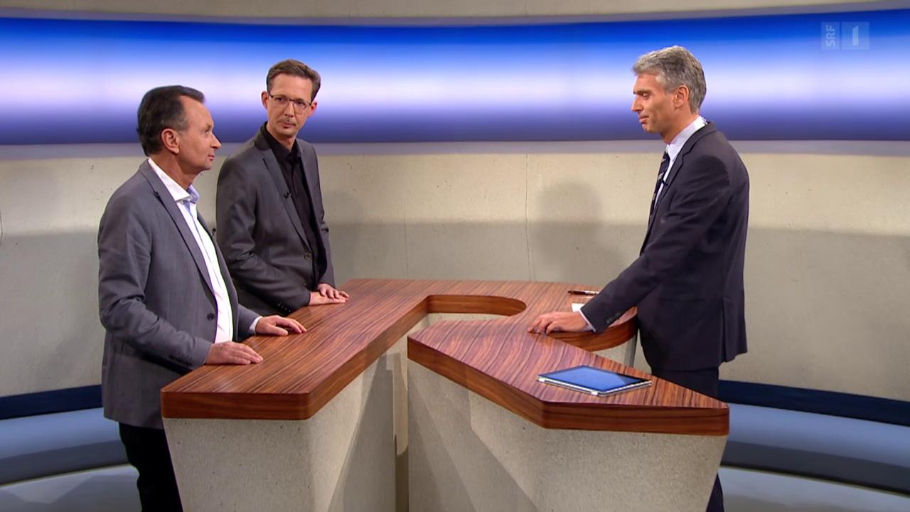 Theke mit Philipp Müller und Michael Hermann