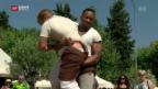 Video «Am «Eidgenössischen» - Schwingsport in der Westschweiz» abspielen