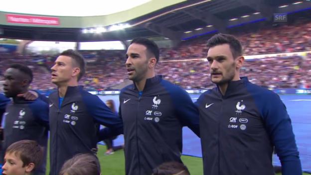 Video «Frankreich schlägt Kamerun» abspielen