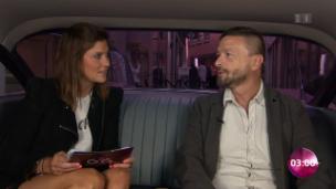 Video «Ein lustiger Limo-Talk mit Annina Frey und Ralf König» abspielen