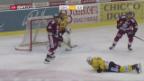 Video «Genf trotz Niederlage in den Playoffs» abspielen
