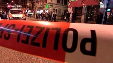 Auf Polizeieinsatz in Zürich
