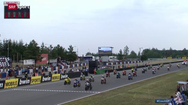 Video «Motorrad: GP Tschechien in Brünn» abspielen