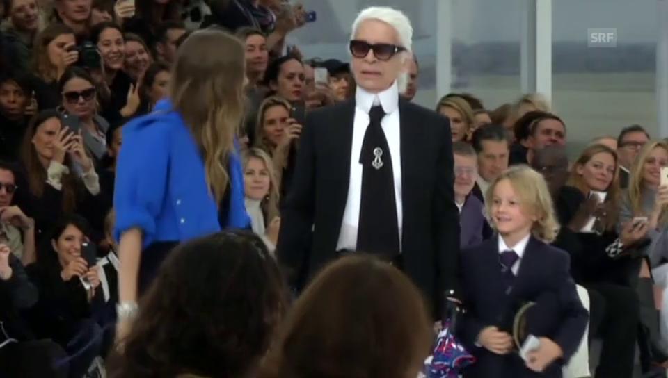 Chanel: Präsentation der Frühjahrskollektion 2016