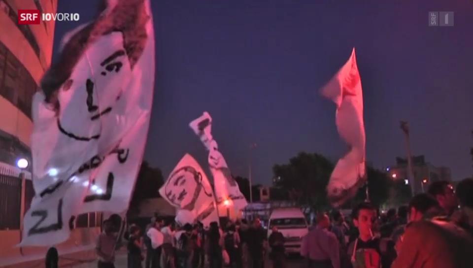 Repressionen in Ägypten