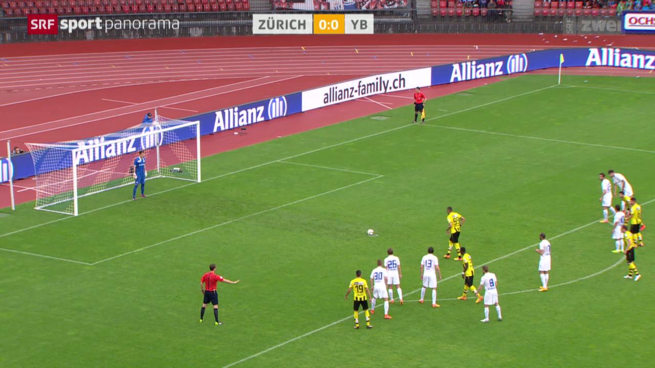 Fussball: Super League, Zürich - YB