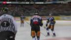 Video «Eishockey: Zug - Lausanne» abspielen