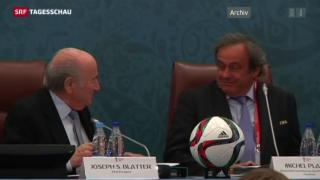 Video «Fifa-Ethikkommission suspendiert Blatter und Platini» abspielen