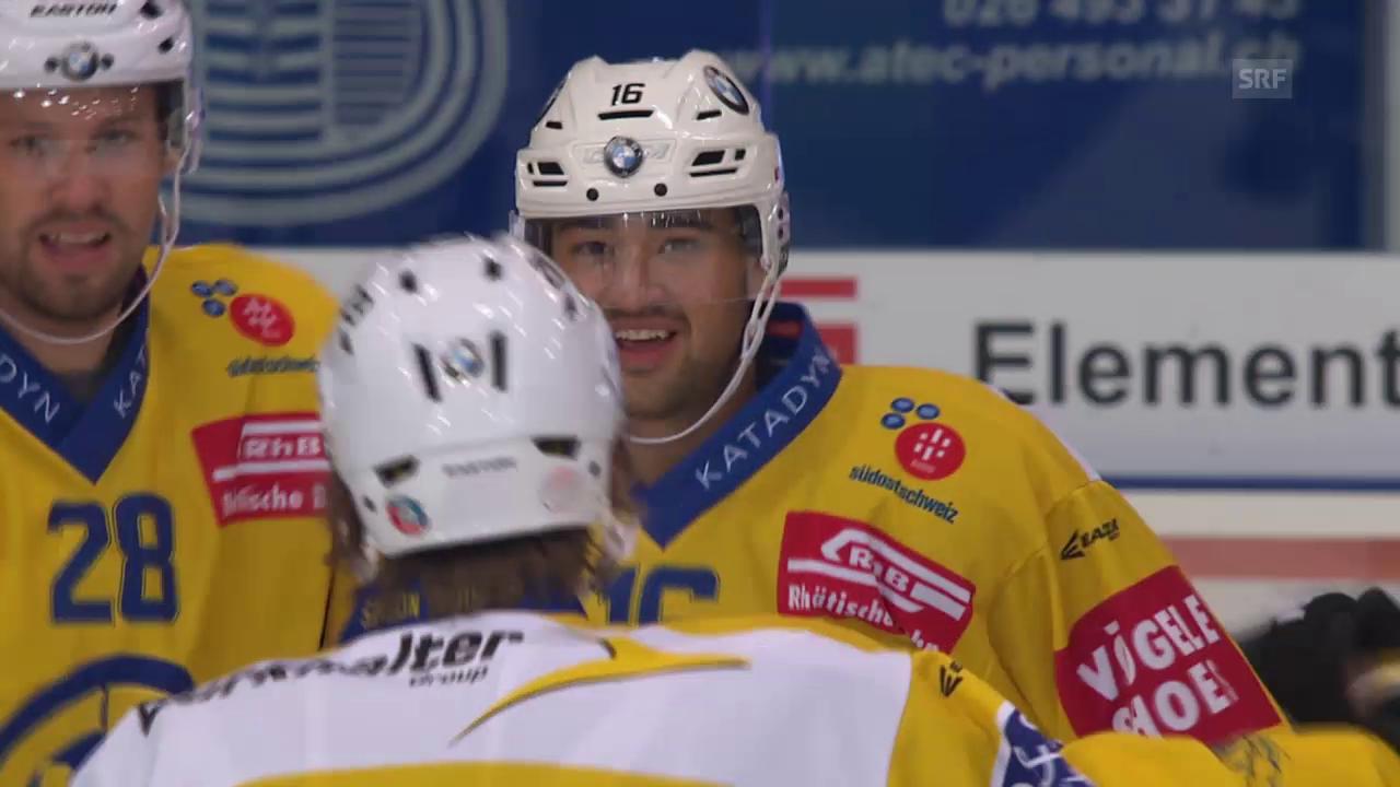Eishockey: NLA, 13. Runde, Setoguchis Tor