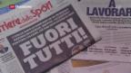 Video «Grosse Ernüchterung in Italien» abspielen