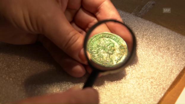 Video «Die Arbeit der Numismatiker» abspielen